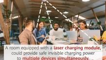 华为手机新专利曝光:效仿LiFi,用灯光实现真正的无线充电?
