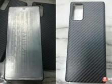 三星Note20不锈钢模具曝光:机身更修长,屏幕却退步?改回直面屏