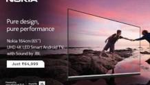 诺基亚在印度发布65英寸智能电视:2.25G内存,卖6万5千卢比