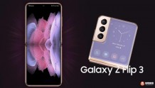三星折叠屏手机Z Flip 3曝光:后置三摄与S21系列一致