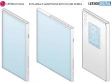 又一款卷轴屏手机曝光!机身背面也设计了小屏幕智窗?