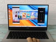 荣耀MagicBook 14 锐龙版2021款 开箱评测+多屏协同交互体验