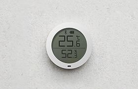米家蓝牙温湿度计发布:售价69元 可联动空调加湿器