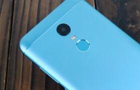 红米5 Plus浅蓝色图赏:5.99英寸18:9圆角全面屏,高通625神U加持