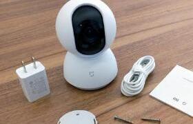 米家智能摄像机云台版 开箱:360度全景实时视频浏览